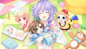 Rating: Safe Score: 26 Tags: choujigen_game_neptune compa game_cg if_(choujigen_game_neptune) kami_jigen_game_neptune_re;birth3 peashy pururut thighhighs tsunako User: Nepcoheart