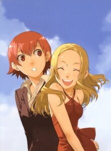 Rating: Safe Score: 12 Tags: baccano! enami_katsumi ennis miria_harvent User: Radioactive
