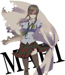 Rating: Safe Score: 18 Tags: kh makinami_mari_illustrious megane neon_genesis_evangelion seifuku User: Radioactive