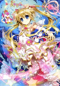 Rating: Safe Score: 51 Tags: cardfight_vanguard dress fujima_takuya mermaid monster_girl tail weapon User: drop
