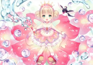 Rating: Safe Score: 63 Tags: dress fairy_tale heels thumbelina wasabi_(artist) weapon wings User: yong