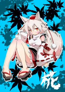 Rating: Safe Score: 16 Tags: animal_ears gibuchoko inubashiri_momiji tail touhou User: inumimi.7