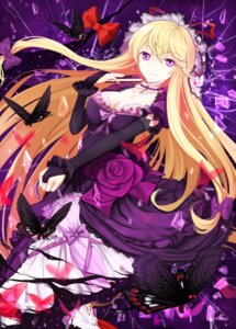 Rating: Safe Score: 63 Tags: cleavage cloudy.r dress touhou yakumo_yukari User: Mr_GT