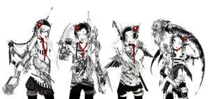 Rating: Safe Score: 10 Tags: gun mecha_musume misaki_(kuroda) thighhighs User: Radioactive
