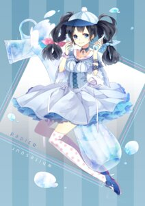 Rating: Questionable Score: 21 Tags: dress heels papico recotasan thighhighs User: KazukiNanako