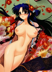 Rating: Questionable Score: 54 Tags: breasts kekocha kimono nipples no_bra nopan open_shirt User: midzki