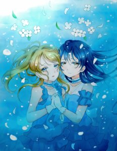 Rating: Safe Score: 21 Tags: ayase_eli cleavage dress lilylion26 love_live! sonoda_umi User: charunetra
