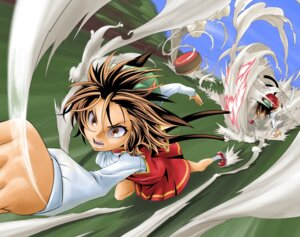 Rating: Safe Score: 3 Tags: chen crossover eyeshield_21 kurenaiha touhou User: Radioactive