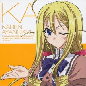 Rating: Safe Score: 13 Tags: akane_iro_ni_somaru_saka ayanokouji_karen disc_cover seifuku User: mysterio619