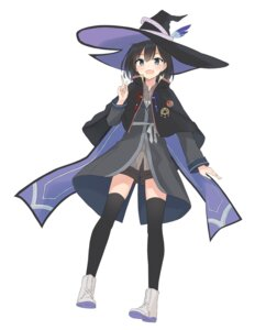 Rating: Safe Score: 14 Tags: azure0608 majo_no_tabitabi thighhighs witch User: saemonnokami