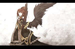 Rating: Safe Score: 16 Tags: dress shirogane_usagi wings User: charunetra