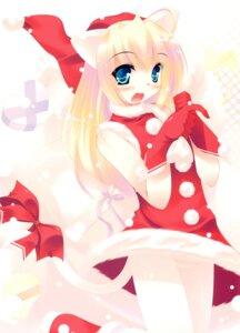 Rating: Safe Score: 11 Tags: christmas inuneko matatapi pantsu User: petopeto