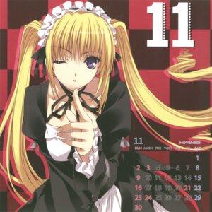 Rating: Safe Score: 12 Tags: berry's calendar gothic_lolita izutsu_aya lolita_fashion maid suzuhira_hiro User: admin2