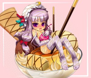 Rating: Questionable Score: 8 Tags: cream naked noya patchouli_knowledge thighhighs touhou User: Deathchipelago