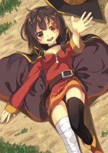 Rating: Safe Score: 51 Tags: ayataka bandages dress kono_subarashii_sekai_ni_shukufuku_wo! megumin pantsu thighhighs User: Mr_GT