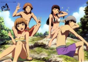 Rating: Safe Score: 32 Tags: amagi_yukiko bikini cleavage hanamura_yousuke headphones megaten narukami_yuu persona persona_4 satonaka_chie swimsuits topless User: Radioactive