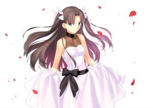Rating: Safe Score: 36 Tags: dress fate/stay_night skirt_lift takeuchi_takashi toosaka_rin User: edogawaconan