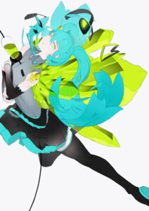 Rating: Questionable Score: 9 Tags: bthx hatsune_miku thighhighs vocaloid User: eridani