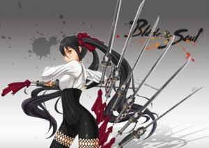 Rating: Safe Score: 46 Tags: blade_&_soul midnight sword weapon User: Recksio