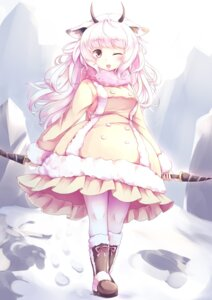Rating: Safe Score: 2 Tags: animal_ears dress horns kanzakietc kemono_friends pantyhose snow_sheep_(kemono_friends) User: Mr_GT