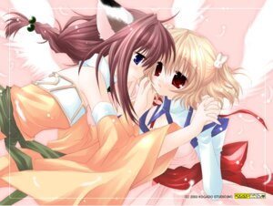 Rating: Safe Score: 10 Tags: animal_ears magical_twirler_angel_rabbie nekomimi sakurazawa_izumi User: sayane