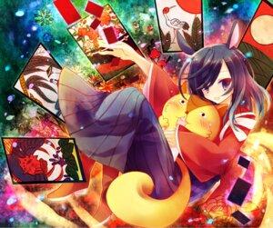 Rating: Safe Score: 11 Tags: animal_ears ibara_riato kenji_kari shinohara_natsuki summer_wars tail User: charunetra