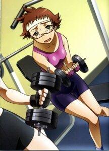 Rating: Safe Score: 4 Tags: bike_shorts hisayuki_hirokazu kikukawa_yukino mai_hime mai_otome megane yukino_chrysant User: vita