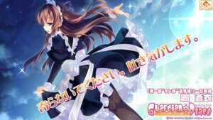 Rating: Safe Score: 33 Tags: guardian☆place maid ootori_aoi pantyhose skyfish tsurugi_hagane wallpaper User: milumon