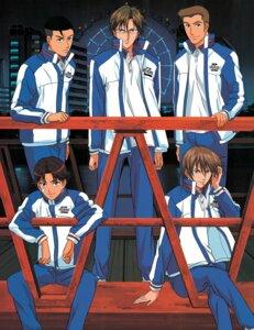Rating: Safe Score: 2 Tags: fuji_shuusuke jpeg_artifacts kawamura_takashi kikumaru_eiji male megane oishi_shuuichiro prince_of_tennis tezuka_kunimitsu User: charunetra