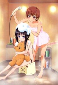 Rating: Questionable Score: 66 Tags: bathing hiyamizu_yukie kamisama_no_memochou loli naked shinozaki_ayaka shionji_yuuko towel wet User: vita