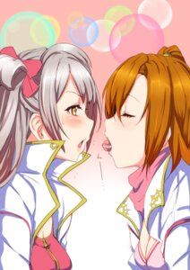 Rating: Safe Score: 33 Tags: clearite kousaka_honoka love_live! minami_kotori yuri User: Radioactive