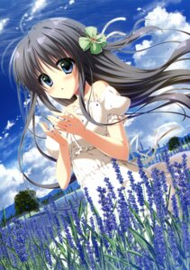 Rating: Safe Score: 73 Tags: dress summer_dress yuzuna_hiyo User: Twinsenzw