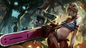 Rating: Safe Score: 34 Tags: bandages cleavage dr._mundo halloween iorlvm league_of_legends riven_(league_of_legends) underboob wallpaper weapon User: Mr_GT