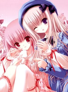 Rating: Safe Score: 59 Tags: fixed hiiragi_miu lolita_fashion meari tinkle tsukiyo_no_fromage User: tcsww12345