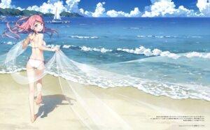 Rating: Safe Score: 146 Tags: bikini feet kantoku kurumi_(kantoku) see_through swimsuits User: Twinsenzw
