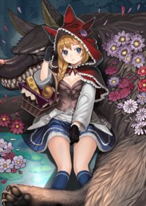 Rating: Safe Score: 81 Tags: big_bad_wolf cleavage little_red_riding_hood_(character) red_riding_hood ryou_(effort) User: Mr_GT
