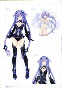 Rating: Questionable Score: 34 Tags: bodysuit choujigen_game_neptune cleavage four_goddesses_online:_cyber_dimension_neptune kami_jigen_game_neptune_v purple_heart thighhighs tsunako wings User: Radioactive