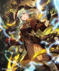 Rating: Questionable Score: 10 Tags: lee_hyeseung pointy_ears shadowverse tail uniform weapon User: Mr_GT
