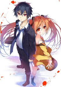 Rating: Safe Score: 24 Tags: aihara_enju black_bullet satomi_rentarou tagme User: 椎名深夏