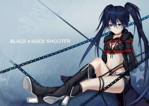 Rating: Questionable Score: 12 Tags: black_rock_shooter black_rock_shooter_(character) bondage bra heels open_shirt yiduan_zhu User: BD_Love