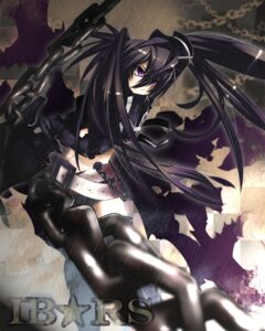 Rating: Safe Score: 13 Tags: black_rock_shooter black_rock_shooter_(character) insane_black_rock_shooter kousou vocaloid User: anaraquelk2