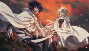 Rating: Safe Score: 11 Tags: fcc hyakuya_mikaela hyakuya_yuuichirou male owari_no_seraph sword uniform User: charunetra