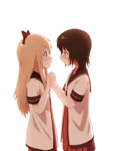 Rating: Safe Score: 33 Tags: funami_yui potoio seifuku toshinou_kyouko yuri yuru_yuri User: Radioactive