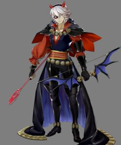 Rating: Questionable Score: 3 Tags: eyepatch fire_emblem fire_emblem_heroes fire_emblem_if horns niles nintendo transparent_png weapon yura User: Radioactive