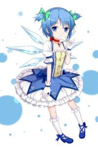 Rating: Safe Score: 26 Tags: cirno cosplay puella_magi_madoka_magica touhou tucana wings User: Chris086