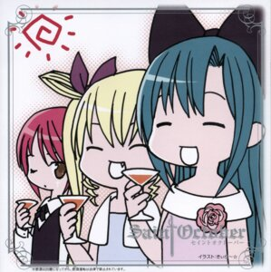 Rating: Safe Score: 4 Tags: chibi disc_cover hayama_kotono hijiri_misaki kiira saint_october shirafuji_natsuki User: Radioactive