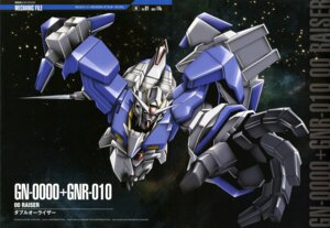 Rating: Safe Score: 11 Tags: 00_raiser gundam gundam_00 mecha sword yoneyama_kouhei User: Radioactive