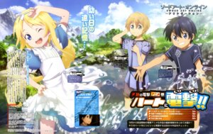 Rating: Safe Score: 21 Tags: alice_schuberg alice_zuberg dress eugeo kirito sword_art_online sword_art_online_alicization yamaji_kyouko User: drop