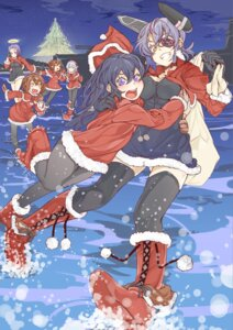 Rating: Safe Score: 13 Tags: akatsuki_(kancolle) christmas cleavage dress eyepatch hibiki_(kancolle) ikazuchi_(kancolle) inazuma_(kancolle) kamo_(kamomedia) kantai_collection pantyhose tatsuta_(kancolle) tenryuu_(kancolle) thighhighs User: Mr_GT