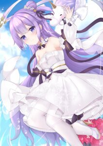 Rating: Safe Score: 19 Tags: azur_lane dress heels kuaua pantyhose see_through tagme unicorn_(azur_lane) wedding_dress User: Arsy